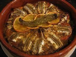 tajine d'anchois